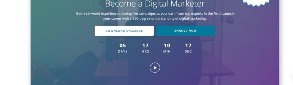 top digital marketing courses - udacity