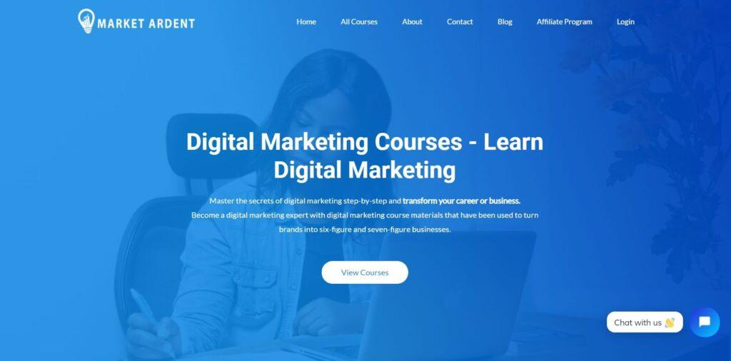 best digital marketing course - market ardent digital marketing courses