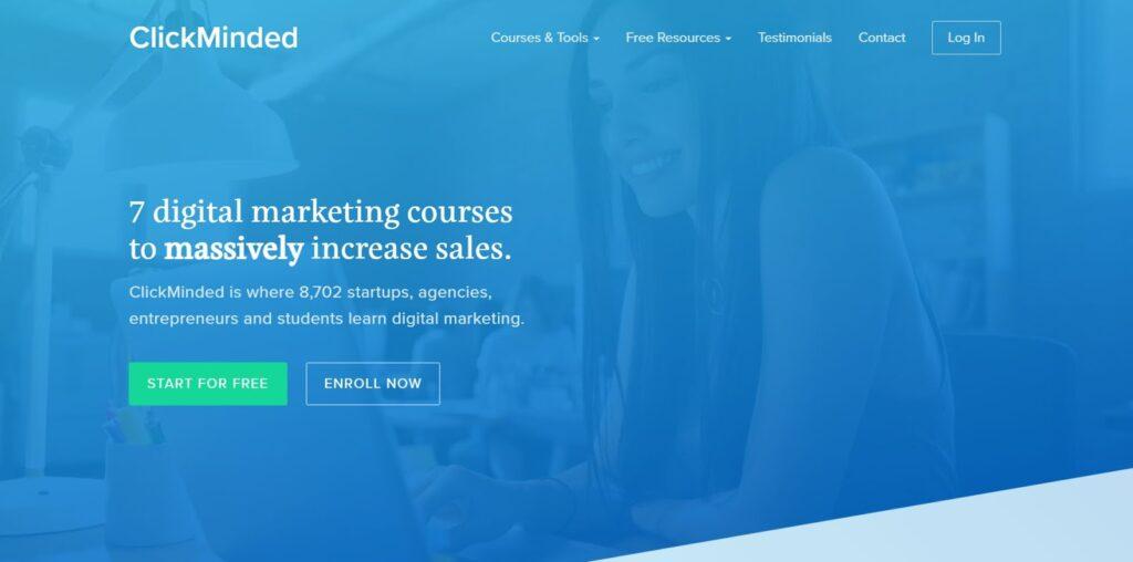 Clickminded Digital Makreting Course