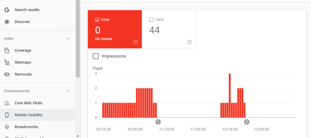 Google search console Mobile Usability errors. Mobile optimization is one of the ways to increase your traffic and ranking